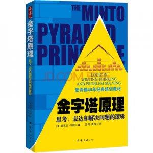 金字塔原理--逻辑思维与有效表达